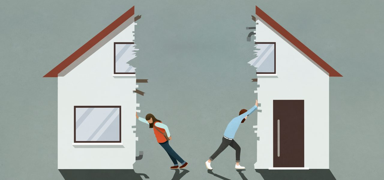 Splitting the Home During Divorce